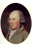 John Adams (Portrait, Color) Art Poster Print Posters