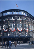 New York Ebbets Field Color Archival Photo Sports Poster Prints