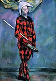 Paul Cezanne Harlequin Art Print Poster Masterprint