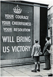 UK WWII Propaganda Your Courage Archival Photo Poster Print Affischer