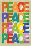 Peace (Dove) Art Poster Print Posters