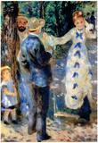 Pierre Auguste Renoir Famille Art Print Poster Photo