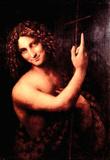 Leonardo Da Vinci (St. John the Baptist) Art Poster Print Masterprint