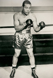 Joe Louis Boxing Pose Archival Photo Sports Poster Print Masterprint
