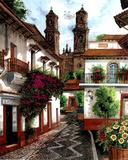 Horacio Robles Jr Old Mexico City Art Print Taxco Poster Masterprint