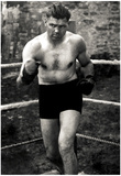 Jack Dempsey In Boxing Ring Archival Photo Sports Poster Print Prints