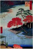 Utagawa Hiroshige Inside Akiba Shrine Art Print Poster Prints