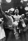 Sugar Ray Robinson being Carried 1955 Archival Photo Sports Poster Masterprint