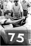 James Dean Racing Archival Photo Movie Poster Print Posters