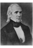 President James K Polk (Portrait) Art Poster Print Posters