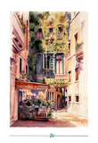 Italian Restaurant Art Print Poster Italy trattoria Poster