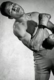 Sugar Ray Robinson Flexing Archival Photo Sports Poster Print Masterprint