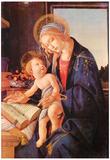 Sandro Botticelli Madonna Teaches the Child Jesus Art Print Poster Plakaty