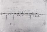 James Whistler Little Venice Art Print Poster Masterprint