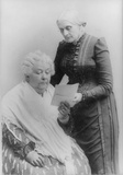 Suffragists poster Elizabeth Cady Stanton and Susan B. Anthony