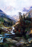 Thomas Moran Mountain of the Holy Cross Art Print Poster Masterprint