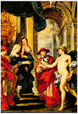 Peter Paul Rubens Medici Treaty of Angoulême Art Print Poster Photo
