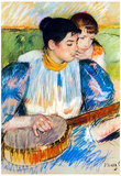 Mary Cassatt The Banjo Lesson Art Print Poster Prints