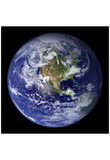 Planet Earth from Space (North America) Photo Poster Posters