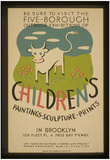 WPA (Five-Borough Outdoor Exhibitions, Children's) Art Poster Print Prints