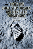 Neil Armstrong One Small Step 1969 Archival Photo Poster Print Masterprint