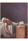 Jacques-Louis David (The murdered Marat) Art Poster Print Affiches
