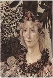 Sandro Botticelli (Spring (Primavera), Detail: Flora) Art Poster Print Posters