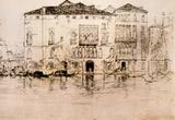 James Whistler The Palaces Art Print Poster Masterprint