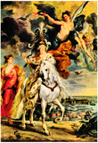 Peter Paul Rubens The Medici's Art Print Poster Print