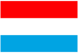 Luxembourg National Flag Poster Print Posters