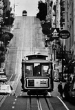San Francisco Cable Car Archival Photo Poster Print Masterprint