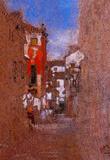 James Whistler Calle San Trovaso Venice Art Print Poster Masterprint