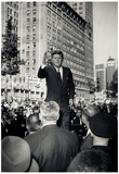 President John F Kennedy Speech Archival Photo Poster Print Print