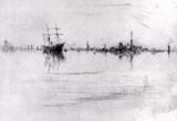 James Whistler Nocturne Art Print Poster Masterprint