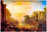Joseph Mallord Turner Decline of Carthagen Art Print Poster Prints