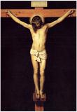 Velasquez Crucified Christ Art Print Poster Print