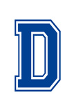 Varsity Letter D Make Your Own Banner Sign Poster Photo