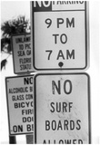 No Surfing at Upham Beach Archival Photo Poster Prints