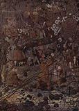 Richard Dadd (The master of the string hexenden woodcutter) Art Poster Print Masterprint