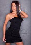 Whitney Peterson Dress Photograph Poster Print by Mario Brown Prints