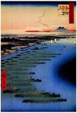 Utagawa Hiroshige Samezu Coast Art Print Poster Prints