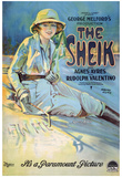 The Sheik Movie Rudolph Valentino Agnes Ayres Poster Print Print