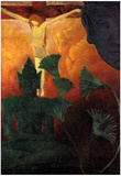 Paul Ranson Christ and Buddha Art Print Poster Prints