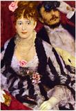 Pierre Auguste Renoir The Box Art Print Poster Photo