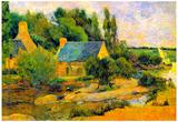 Paul Gauguin Washerwomen at Pont-Aven Art Print Poster Prints