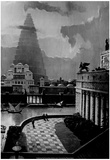 Tower of Babel Painting 1985 Archival Photo Poster Photo