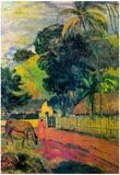 Paul Gauguin Landscape Art Print Poster Prints