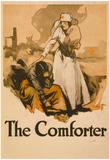 The Comforter Nurse War Proganda Vintage Ad Poster Print Prints