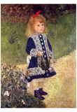 Pierre-Auguste Renoir (Girl with watering can) Art Poster Print Prints