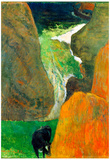 Paul Gauguin Hover Above the Abyss Art Print Poster Prints